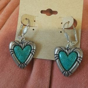 Vintage Sterling Green Stone Carolyn Pollack